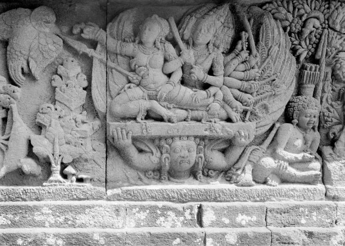 Relief in Prambanan Temple