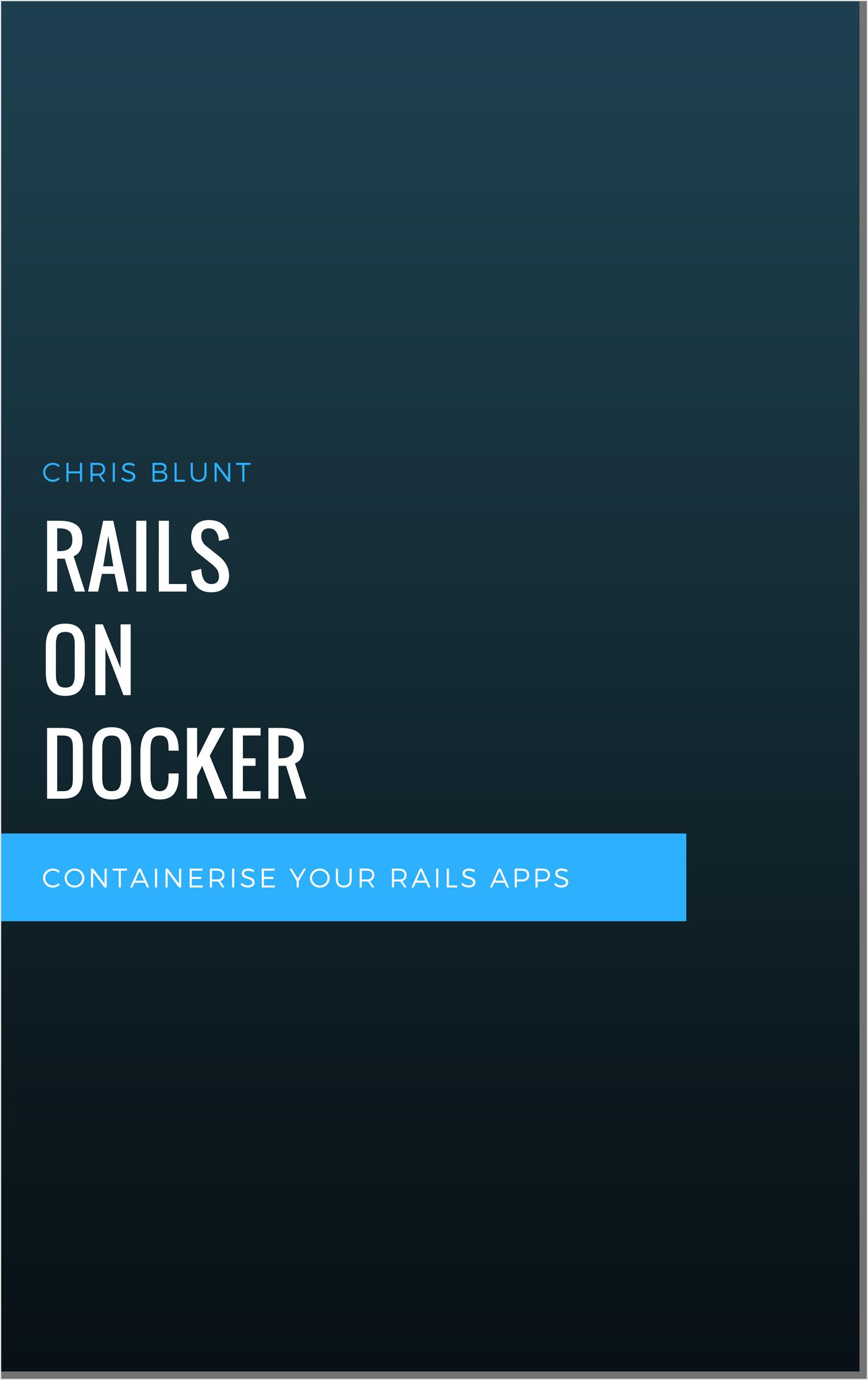 Rails on Docker Cover