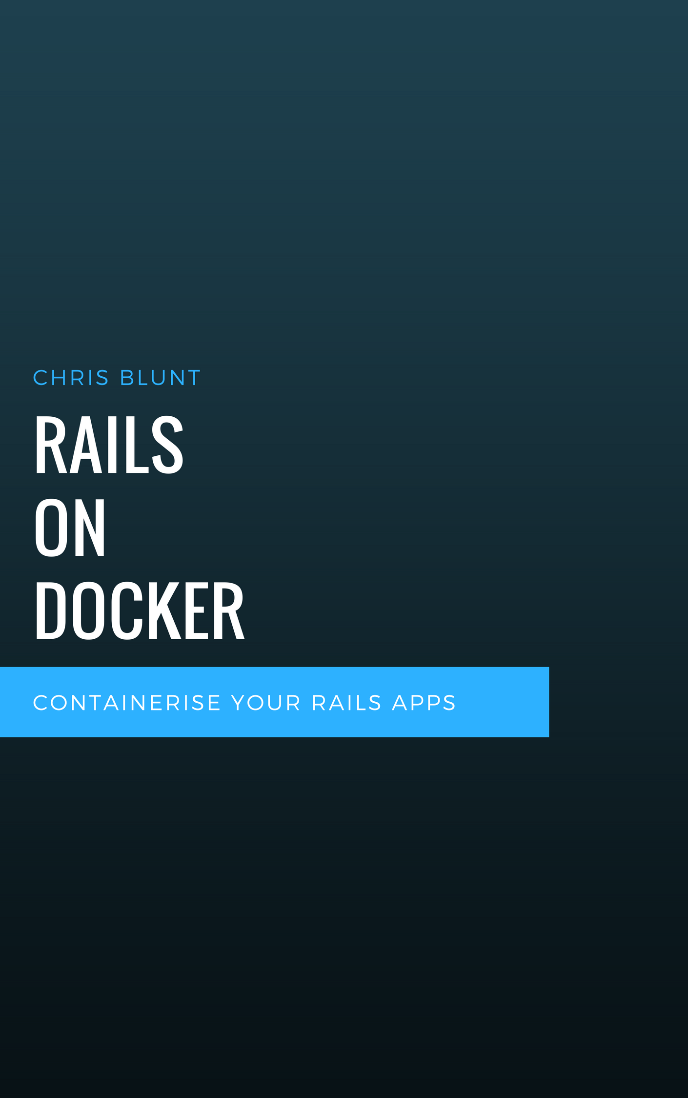 Rails on Docker Cover