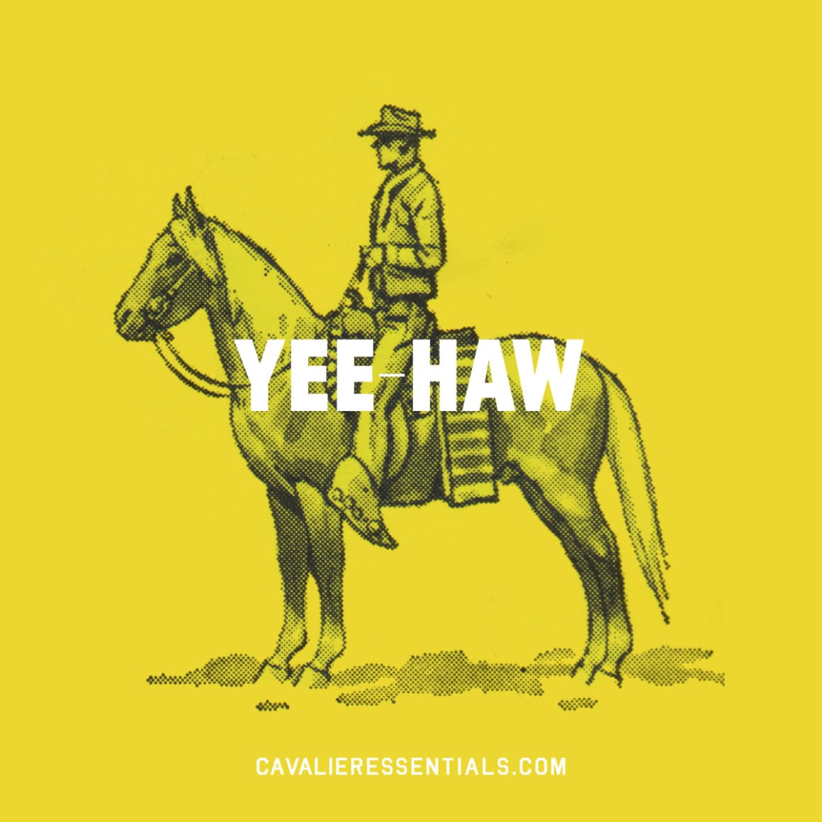 Cav yee haw