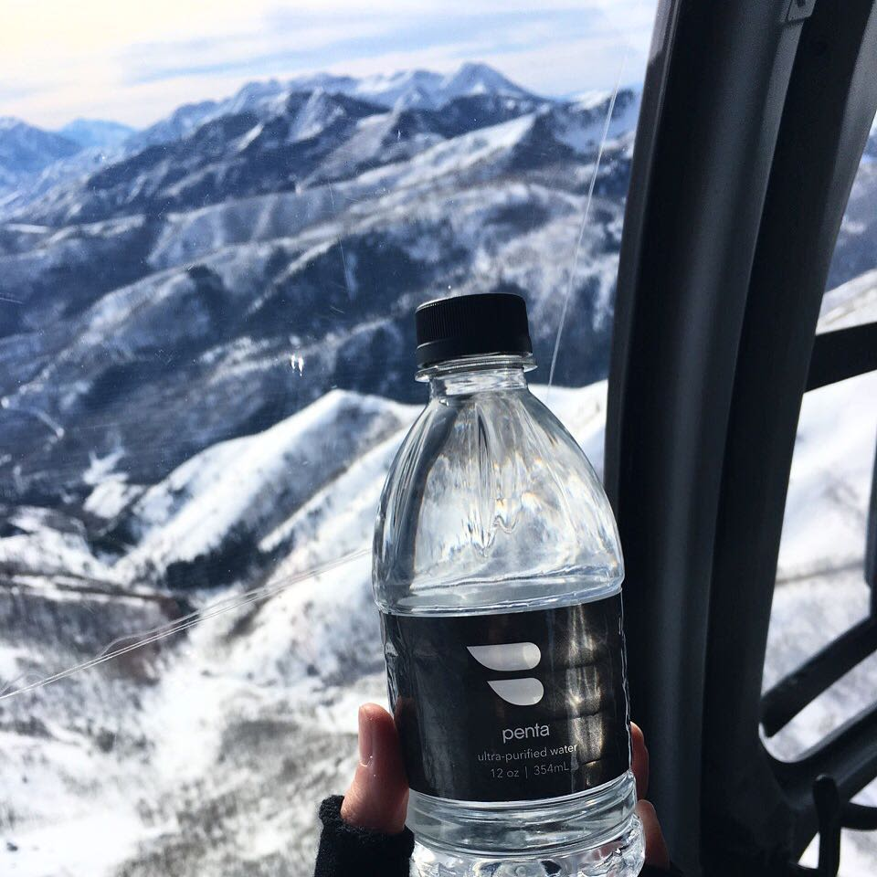 Blade water bottle