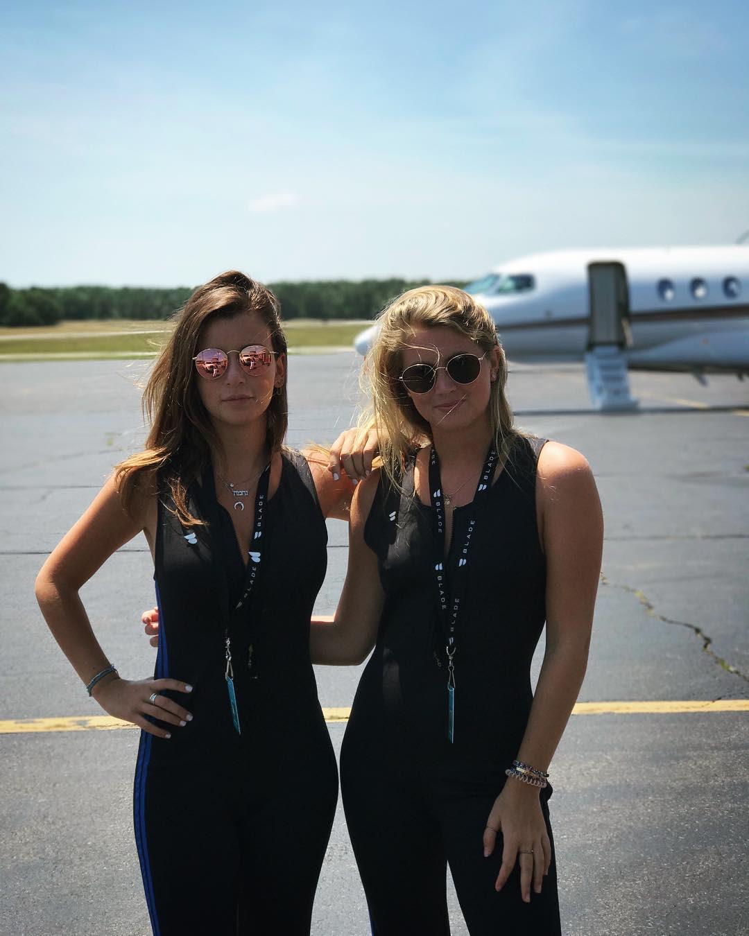 Blade employees runway