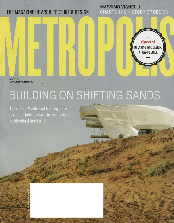 Metropolis mag feature