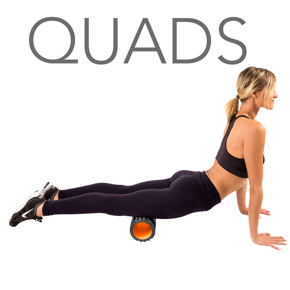 Foam Roller for Quads and Legs