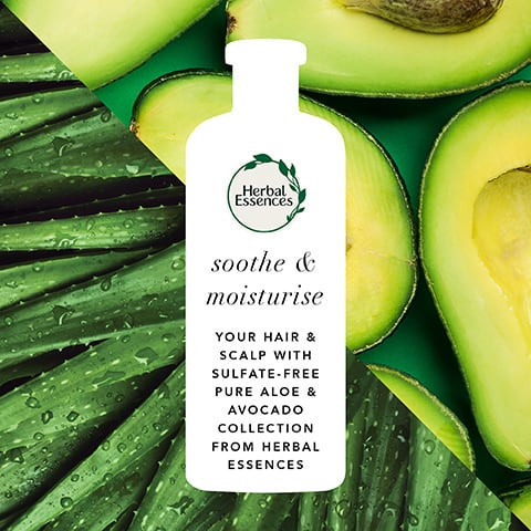 Soothes & Moisture Sulphate-free Pure Aloe + Avocado Oil Shampoo
