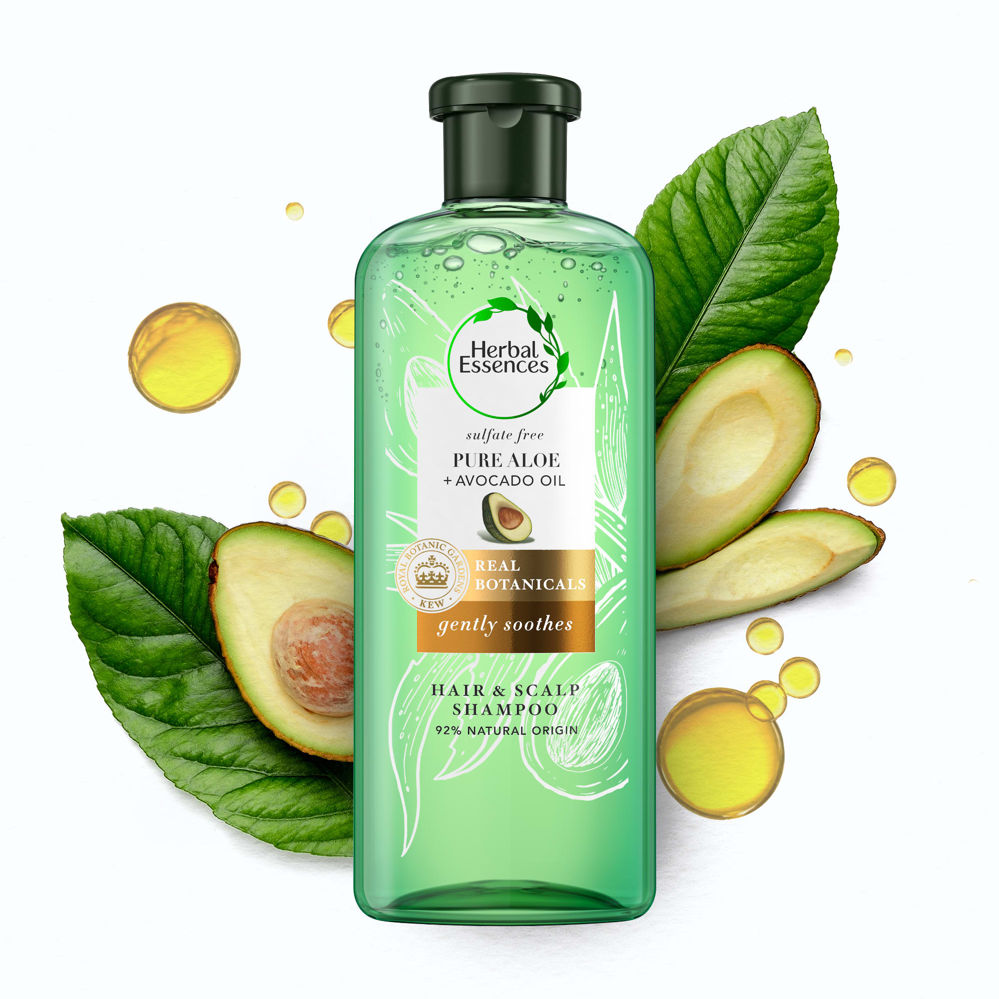 Sulphate-free Pure Aloe + Avocado Oil Shampoo