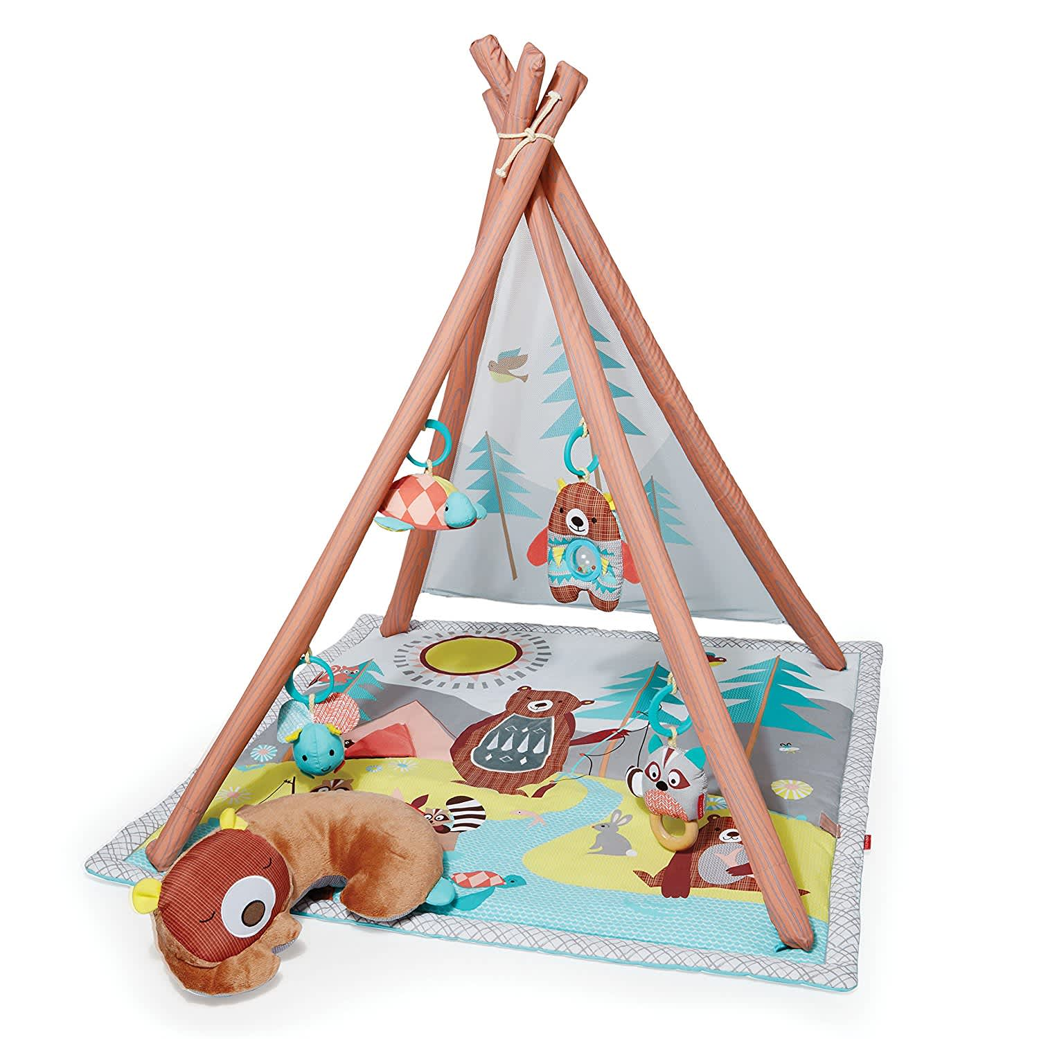 Baby Infant and Toddler Camping Cubs Activity Gym