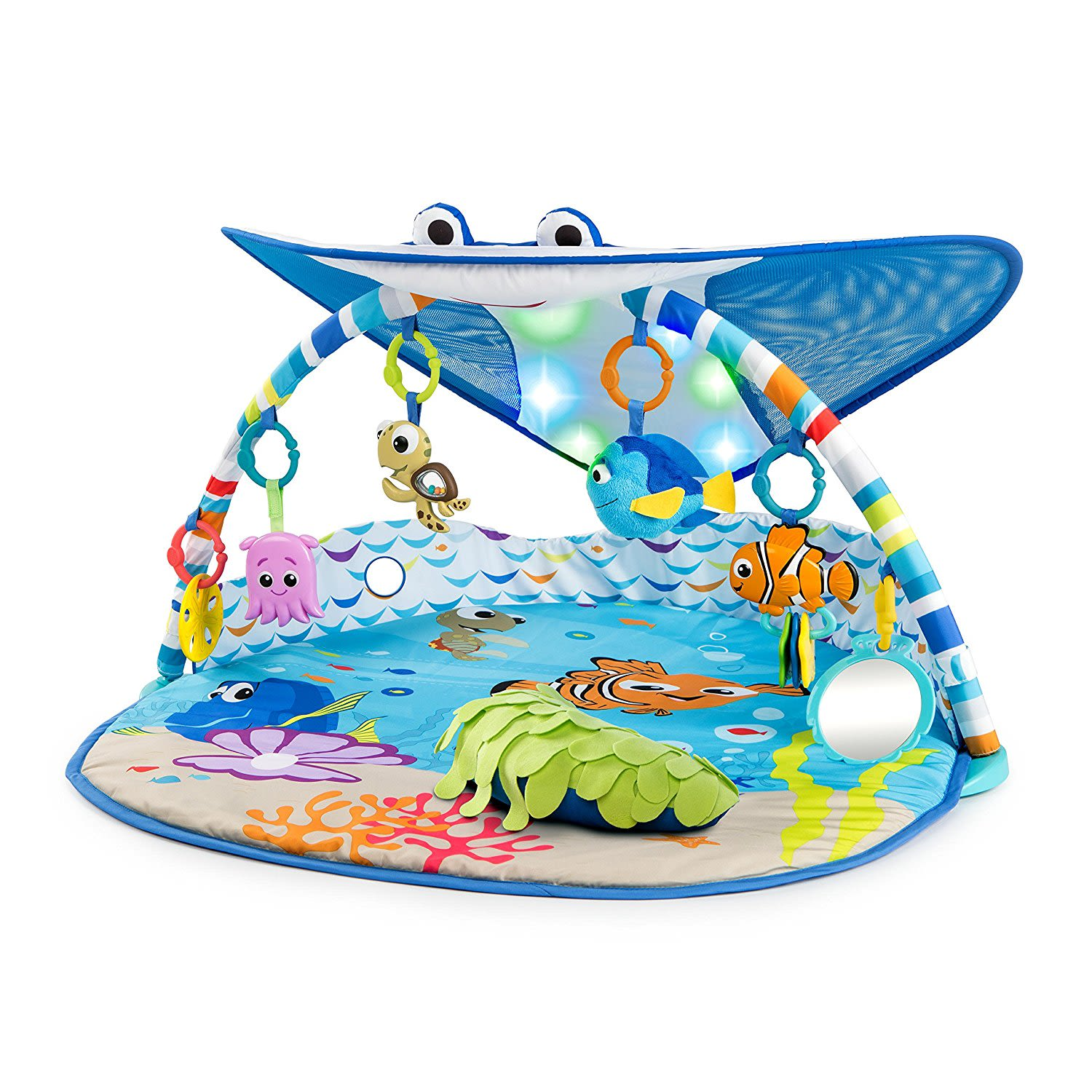 Baby Mr. Ray Ocean Lights Activity Gym