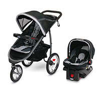 Fastaction Fold Jogger Click Connect Baby Travel System