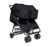 XL2 BEST v2 Lightweight Double Travel & Everyday Umbrella Twin Stroller System
