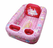 Princess Inflatable Safety Bathtub