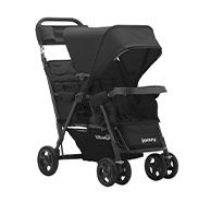 Caboose Too Ultralight Graphite Stand-On Tandem Stroller
