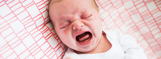 Baby crying at bed time