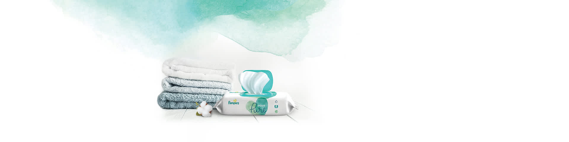 Pampers Aqua Pure Wipes
