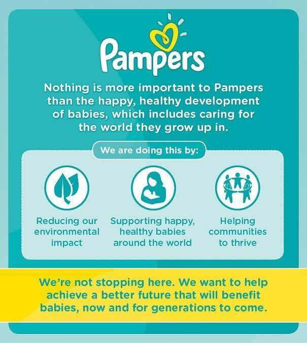 Pampers cares