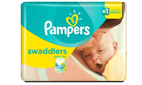 PampersSwaddlers