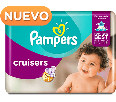 Pañales Pampers® Cruisers
