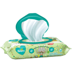 Pampers Complete Clean Unscented Wipes