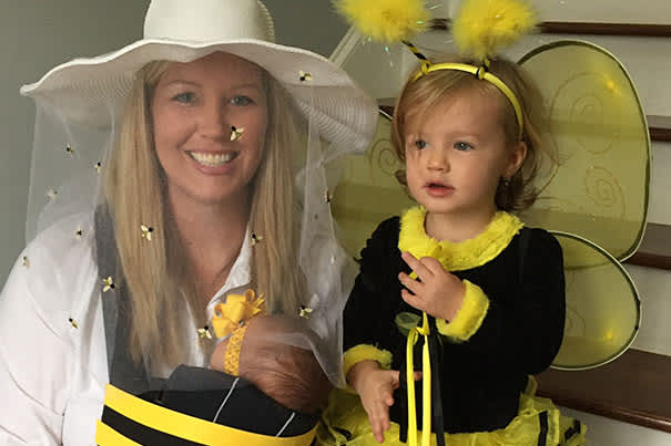 Bumble Bee Baby Carrier Costume