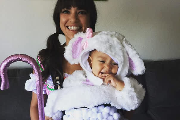 Sheep And Little Bo Peep Baby Carrier Costume