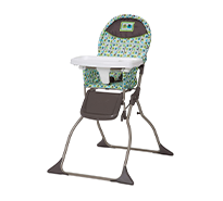 Simple Fold High Chair With 3-Position Tray