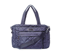 Crosby Nylon Quilted Diaper Bag