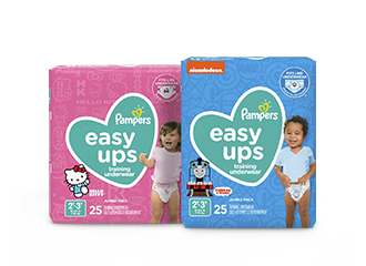 Pampers® Easy Ups™