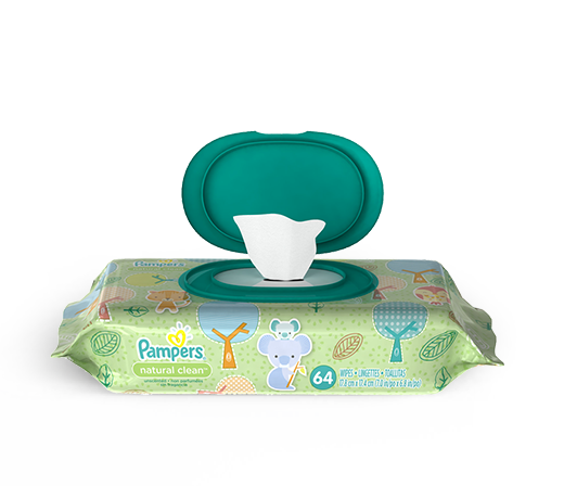 Pampers®  Complete Clean™ Unscented