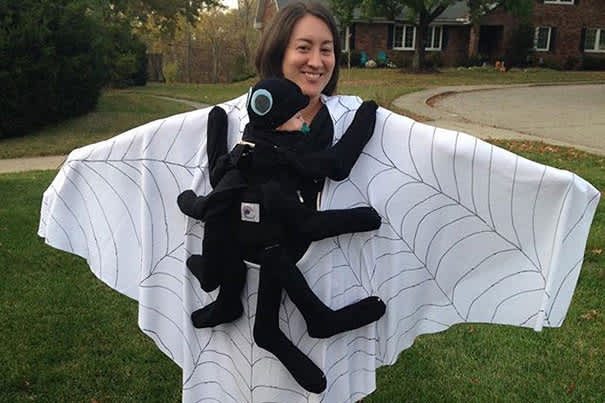 Spider Baby Carrier Costume