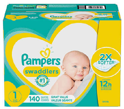 Pañales Pampers® Swaddlers
