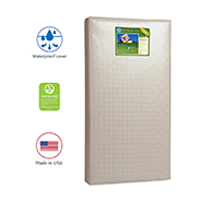 Soybean Foam-Core Toddler and Baby Crib Mattress