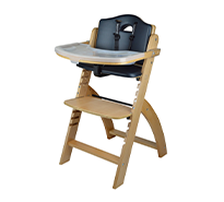 Beyond Wooden High Chair With Tray