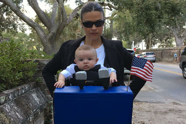 President of the USA Baby Carrier Costume