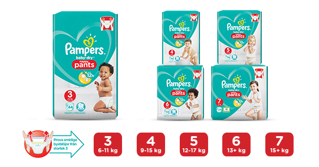 Pampers® Baby-Dry Pants