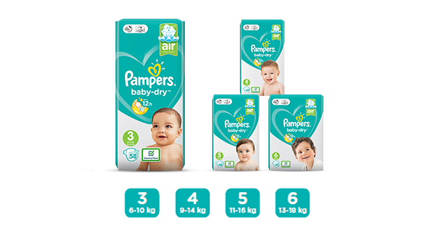 Pampers® Baby-Dry