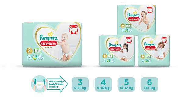 Pampers® Premium Protection™ Pants