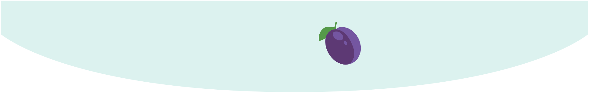 baby size of large plum week 13