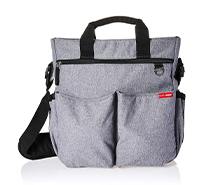 Messenger Diaper Bag, Duo Signature