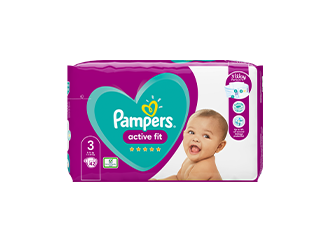 NAPPIES <br />Pampers® Active Fit Nappies