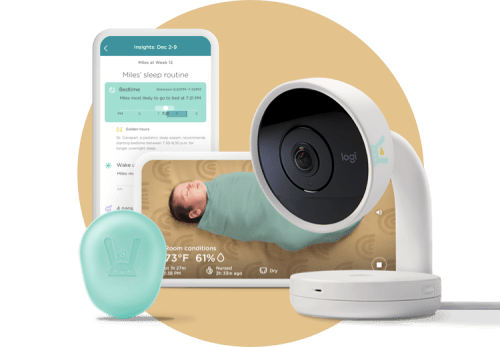 Smart Baby Monitor + Sleep System