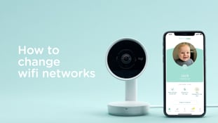 How do I connect my video monitor to a different WiFi?