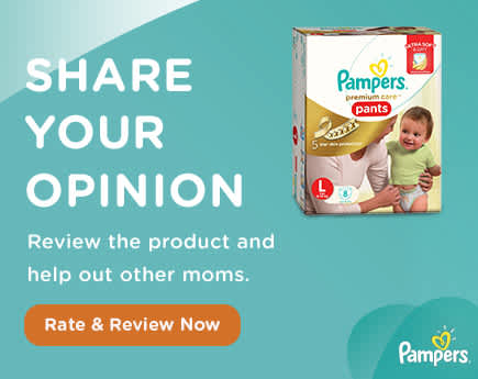 Join the  Pampers Club