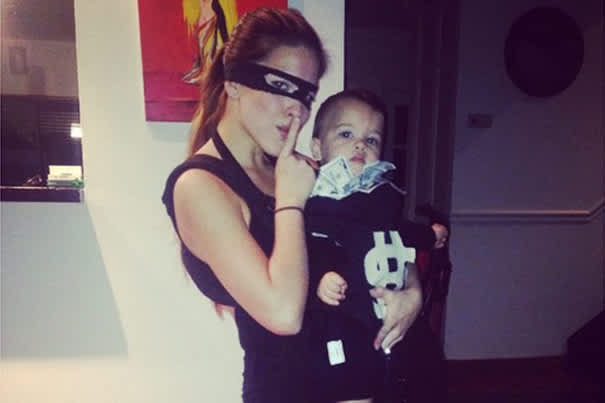 Money Bag Baby Carrier Costume