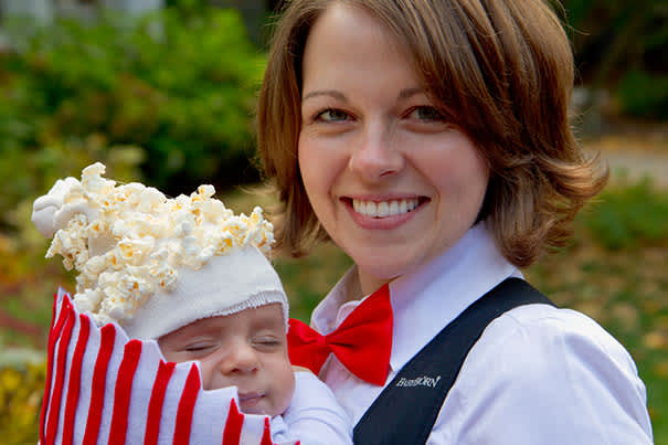 Popcorn Baby Carrier Costume