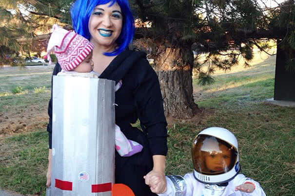 Rocketship Baby Carrier Costume