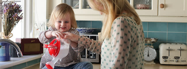 Housework with Toddlers