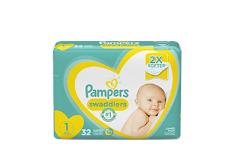 DIAPERS <br /> Pampers® Swaddlers™
