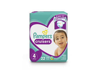 DIAPERS <br /> Pampers® Cruisers™