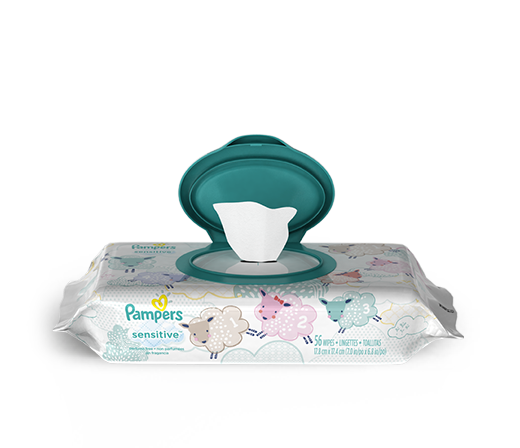 WIPES <br /> Pampers® Sensitive™