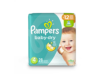DIAPERS <br /> Pampers® Baby-Dry™